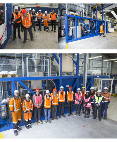 New PMB manufacturing plant in the Port of Lyttelton